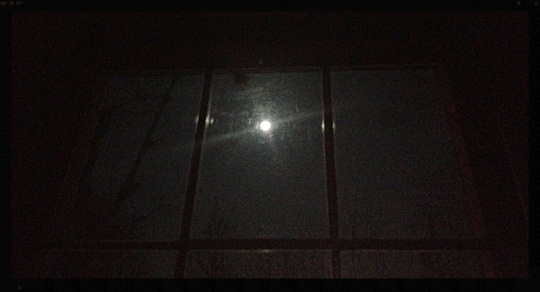 Image of Moon thru the window