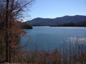 Image of Fontana Lake in NC