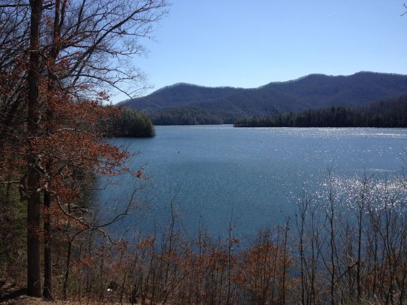 Image of Fontana Lake in NC