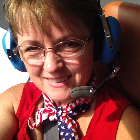 Rita with Headphones